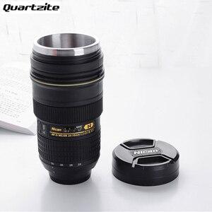 Image 1 - Tasse dobjectif dappareil photo 350 400 ML gobelet isolé dacier inoxydable de thé (modélisation Nikon AF S NIKKOR 24 70mm f/2.8G ED) tasse à café