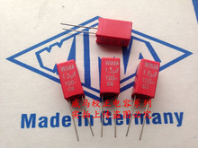 2019 hot sale 10pcs/20pcs WAMA capacitor MKS2 100V 1.5UF 100V 155 1u5 P: 5mm spot Audio capacitor free shipping 20pcs mbr30100 schottky diode 30a 100v to 220