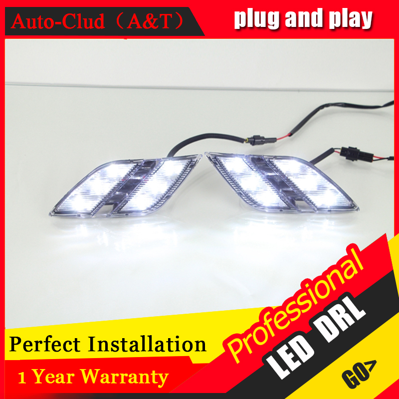 Auto Clud car styling For peugeo 301 LED DRL For 301 led daytime running light High brightness guide LED DRL