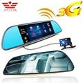Anstar 3 Г Android 5.0 Автомобильный ВИДЕОРЕГИСТРАТОР Видеокамера GPS Navi Рекордер Bluetooth FM WIFI Двойной Объектив Зеркало Заднего Вида Видеокамера Даш Cam Видеорегистраторы