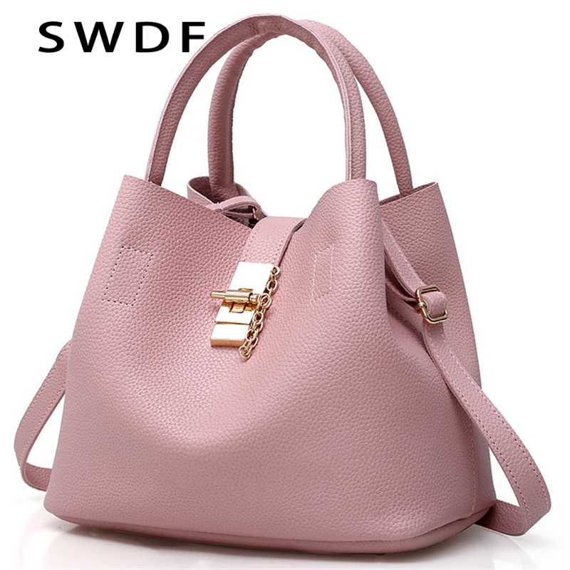 Black red women bags bucket bag crossbody single shoulder female handbag  designers luxury messenger bag women mother bags b7ed8acb34f99
