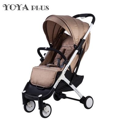 YOYA PLUS baby strollers ultra lightweight folding can sit can lie high landscape umbrella baby trolley
