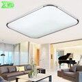 Modern LED Arcrylic Ouro Prata luz de Teto Da Lâmpada 220 v-240 v Sala de estar/Sala de Jantar/Café Casa Luzes LED para interior Decoração