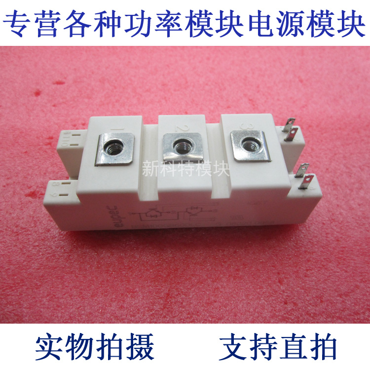 BSM100GB60DLC EUPEC 100A600V 2 Unit IGBT Power Module tt260n22kof eupec type new tt260a power module