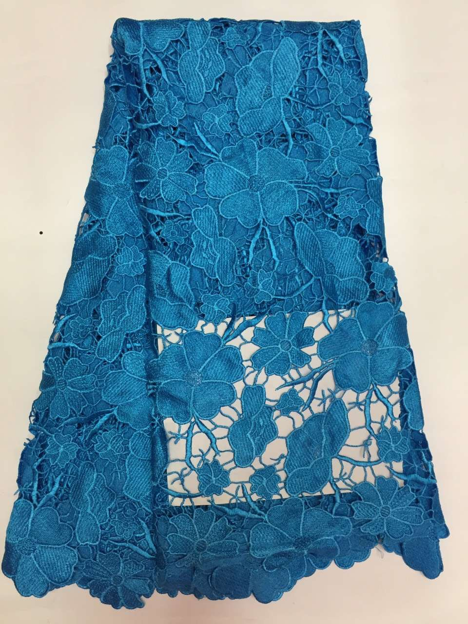 Hot High Quality  African Water soluble lace  Guipure Cord Lace - Arts, Crafts and Sewing - Photo 5