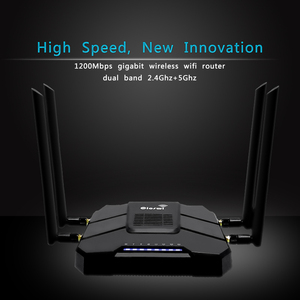 Image 3 - Gigabit openWRT WiFi Router With SIM Card Slot 1200Mbps 2.4G/5GHz 256MB Dual Band 4G LTE 3G Modem Router Wireless Repeater