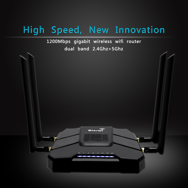 Image 3 - Gigabit openWRT WiFi Router With SIM Card Slot 1200Mbps 2.4G/5GHz 512MB Dual Band 4G LTE 3G Modem Router Wireless Repeater-in Wireless Routers from Computer & Office