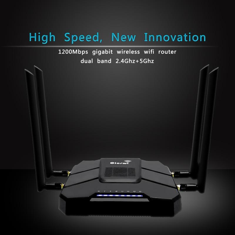 Image 3 - Гигабитный wifi маршрутизатор с ОС OpenWRT с слотом для sim карты 1200 Мбит/с 2,4 г/5 ГГц 512 Мб двухдиапазонный 4G LTE 3g модем маршрутизатор беспроводной ретранслятор-in Беспроводные маршрутизаторы from Компьютер и офис