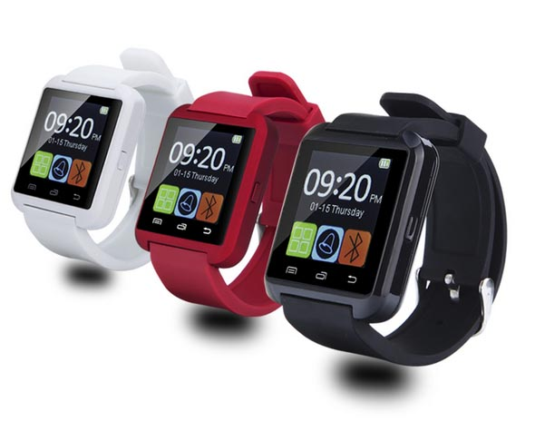 Original Bluetooth smart watch U8 Wrist Watch U8 font b smartWatch b font For iPhone Android
