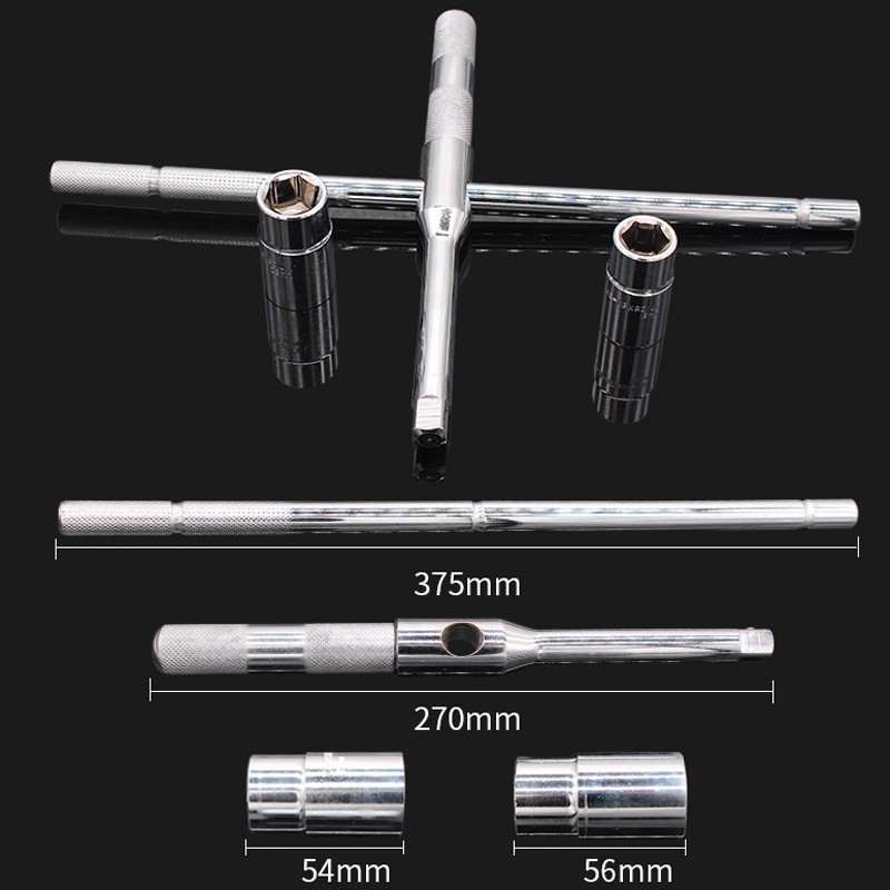 Professional Universal Car Repair Cross Torque Socket Wrench Set Spanner Head Tool Tire Removal Sleeve Ratchet Garage Hand Box in Wrench from Tools