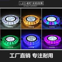 Высокое качество Кристалл светодио дный 3 Вт светодио дный светильники 300lm Точечные светильники мини-вниз лампа Спальня освещения AC110V-220V
