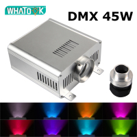 DMX 45W RGBW Light Engine Machine Led Fiber Optic Ceiling Kits Starry Sky Wedding Party chandelier LED DMX512 Light Source