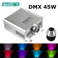 DMX 45W RGBW Light Engine Machine Led Fiber Optic Ceiling Kits Starry Sky Wedding Party chandelier LED DMX512 Light Source