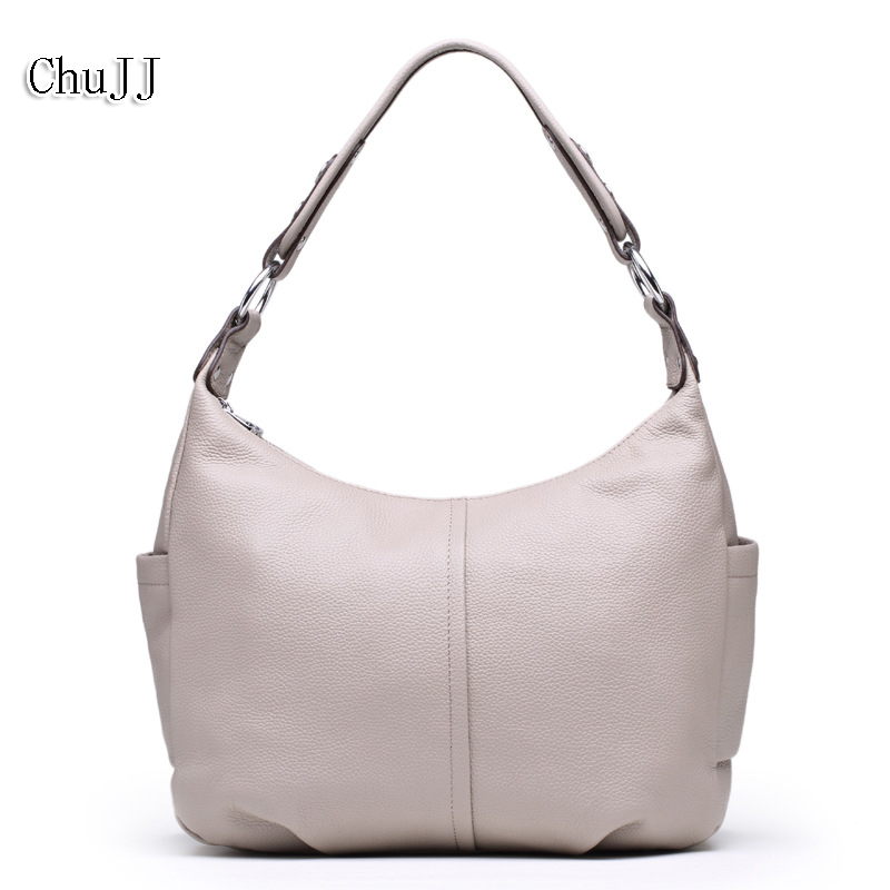Big Size Women Genuine Leather Handbags Fashion Luxury Hobos Women Bags Women Messenger Bags Shoulder Bag Cow Leather Tote Bag fashion leather women shoulder big bag genuine leather cowskin paste brand luxury leather message women bag 7 colors p1006a