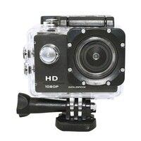 HD 1080P спортивная Экшн-камера Камера 2 дюймов ЖК-дисплей Экран Go Водонепроницаемый Pro для плавания шлем Камера DV запись видео DVR Мини Камера
