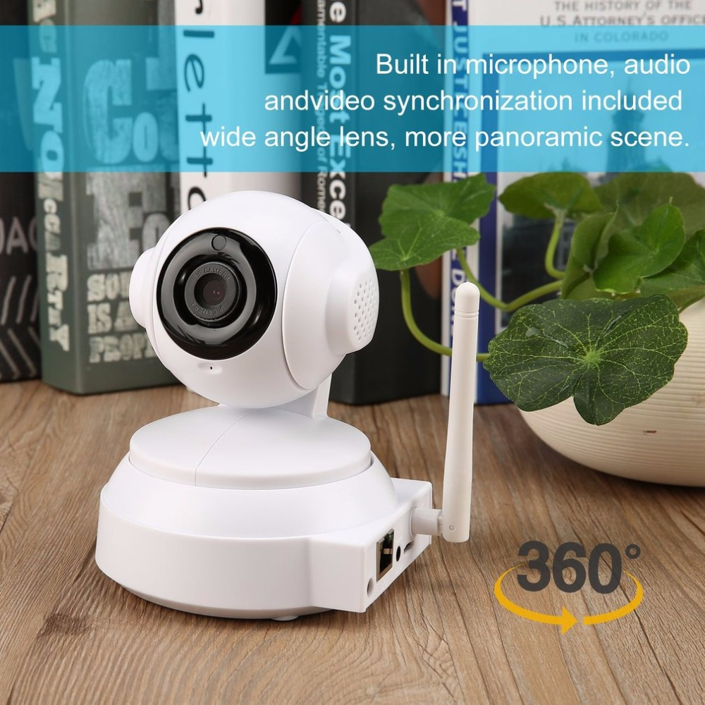 LESHP Home Security IP Camera Wireless Smart WiFi Camera WI-FI Two-way voice intercom Record Surveillance Baby Monitor US EU