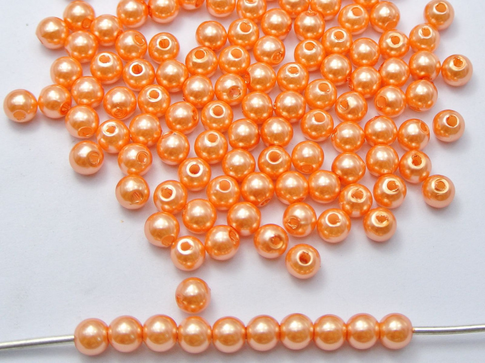 Beads & Jewelry Making Qingmos Natural 12mm Coin Round Orange Freshwater Pearl Loose Beads For Jewelry Making Diy Necklace Bracelet Earring 14 Los798 Jewelry & Accessories