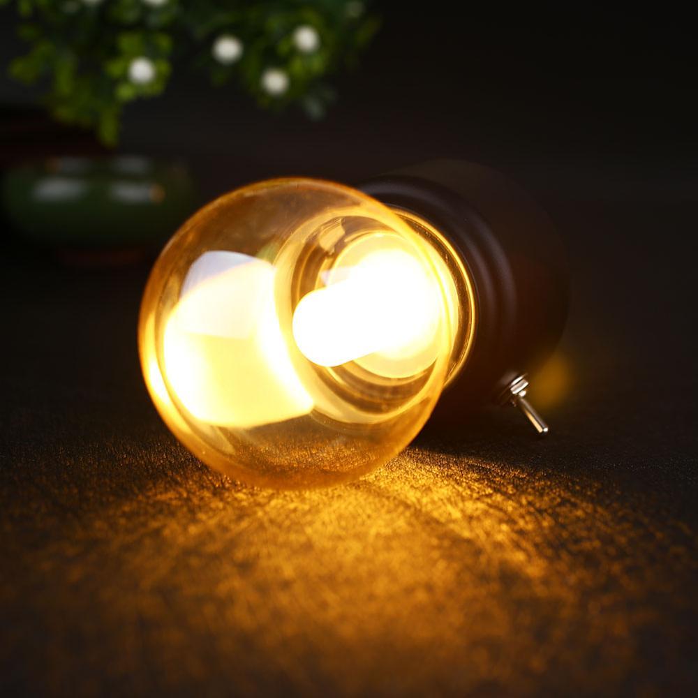 2019 Nouvel An Led ampoule classique lampe de bureau de soufflage - Veilleuses - Photo 2