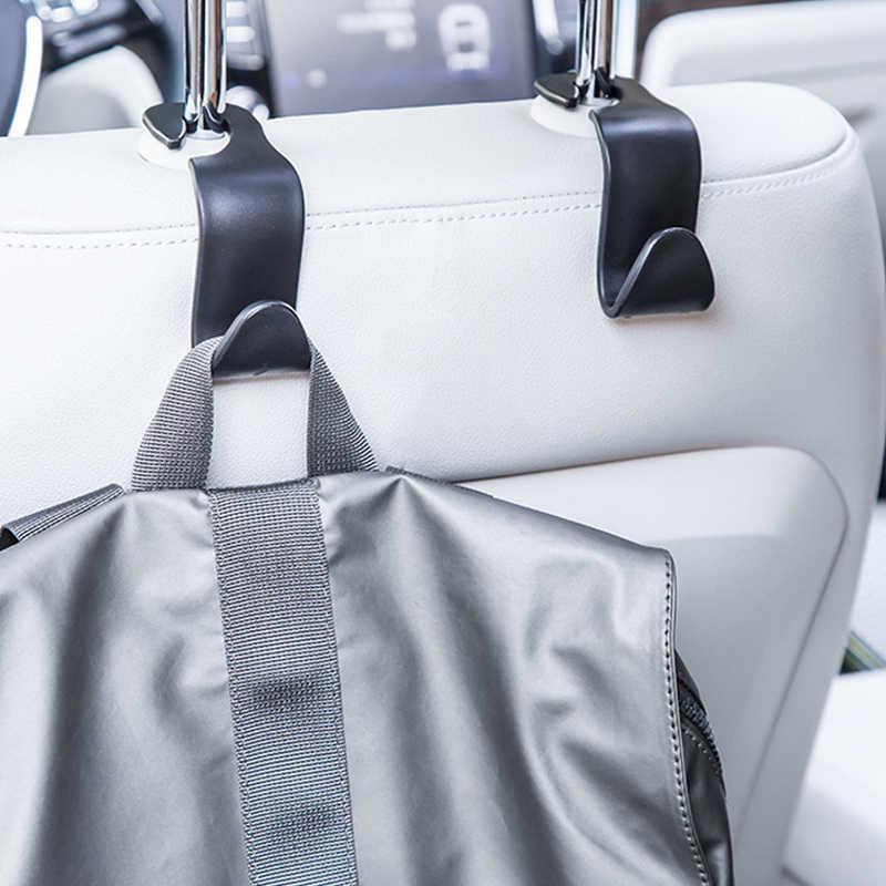 รถยนต์คลิปที่นั่งกลับตะขอสำหรับ BMW E90 F30 F10 Audi A3 A6 Opel Insignia Alfa Romeo Ssangyong อุปกรณ์เสริม