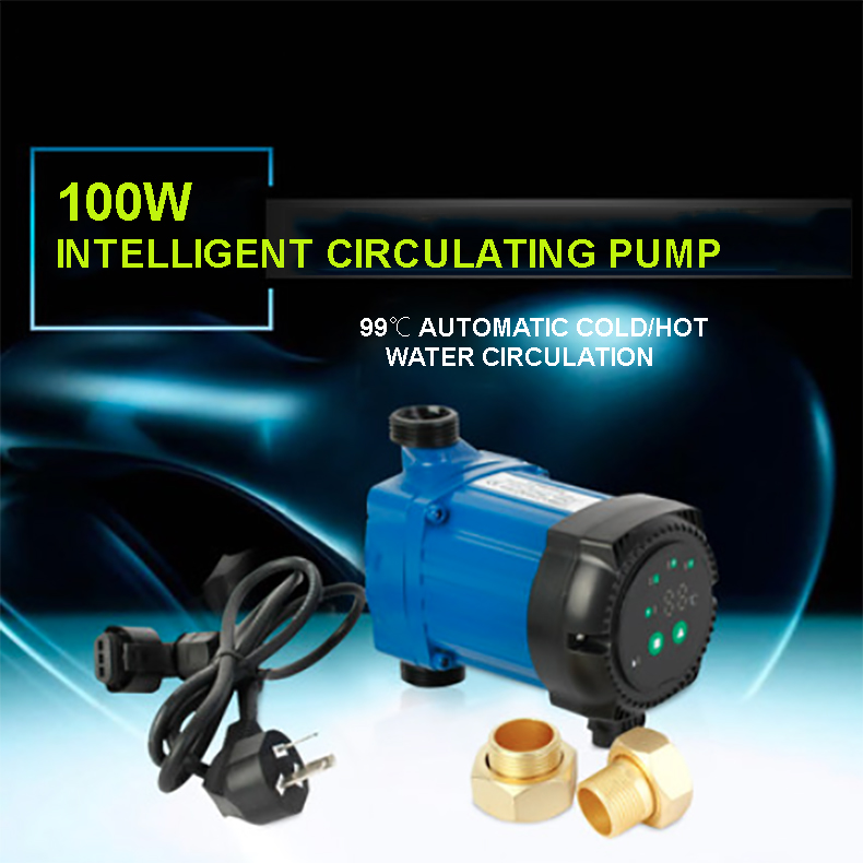 100W 25mm 2.5m3/h Quiet Solar Water Heater Electrical Hot Water Circulation Pump Booster Pump100W 25mm 2.5m3/h Quiet Solar Water Heater Electrical Hot Water Circulation Pump Booster Pump