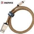 REMAX Original Certificada 8Pin Cabo de Dados USB Para iPhone5S SE 6 S 7 plus para ipad mini air 2 transmitir linha 2 m 2.1a livre grátis
