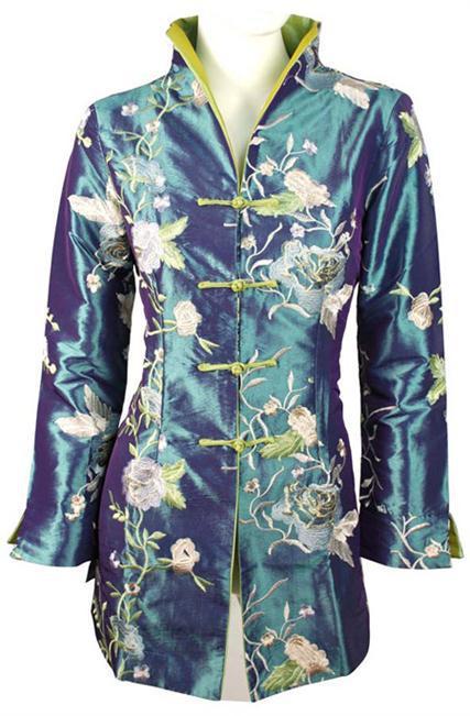 Moda primavera clothing señoras chaqueta de las mujeres chinas capa de la chaqueta prendas de vestir exteriores juego de la espiga tamaño ml xl xxl xxxl ta25