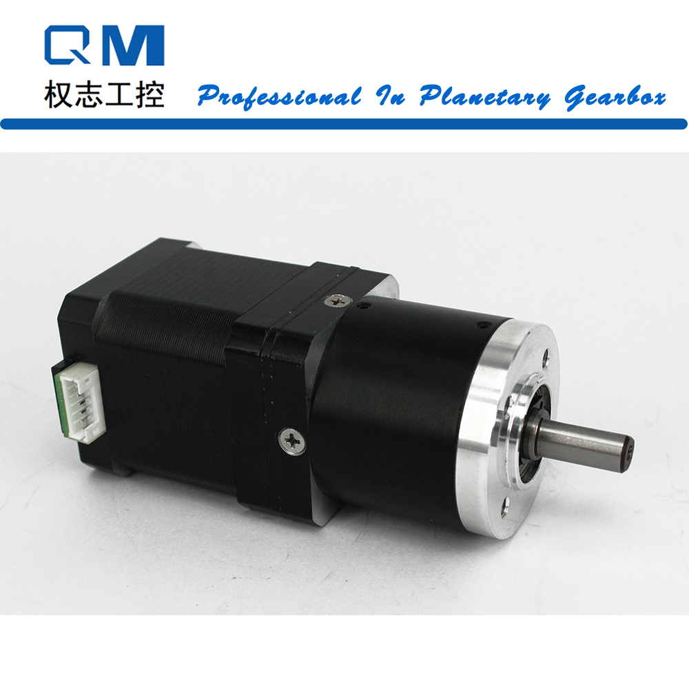 Gear motor planetary reduction gearbox ratio 15:1 nema 17 stepper motor L=48mm cnc robot pump dental endodontic root canal endo motor wireless reciprocating 16 1 reduction