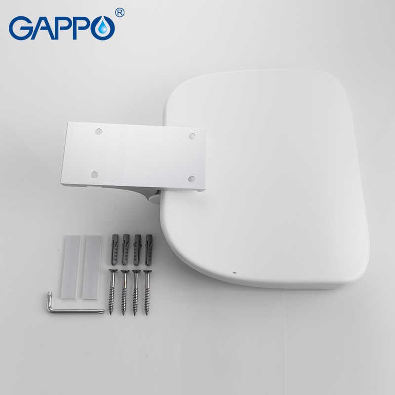 GAPPO настенное сиденье для душа Складная скамейка для Детей Туалет складные душевые стулья для ванной стул для душа Cadeira стул для ванной