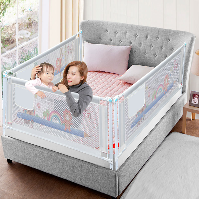 Baby Bed Fence Home Playpen Safety Gate Products Barrier For Beds Crib Rails Security Fencing Children Guardrail Kids Stores Your Love Of Your Kids Is Priceless