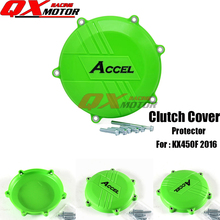 Фотография Motorcycle Plastic Clutch Protector Cover Protection Cover For Kawasaki KX 450F KXF450 KX450F 2016 MX Motocross free shipping