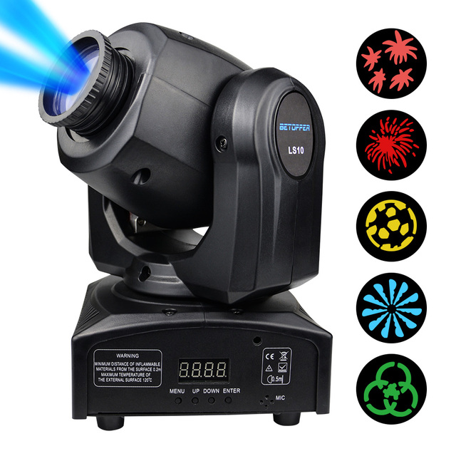 Dmx Christmas.Us 146 89 50 Off Betopper 2pcs Lot Dmx Led Moving Head Stage Light Wedding Christmas Disco Dj Stage Lighting Effect Projector Christmas Light In