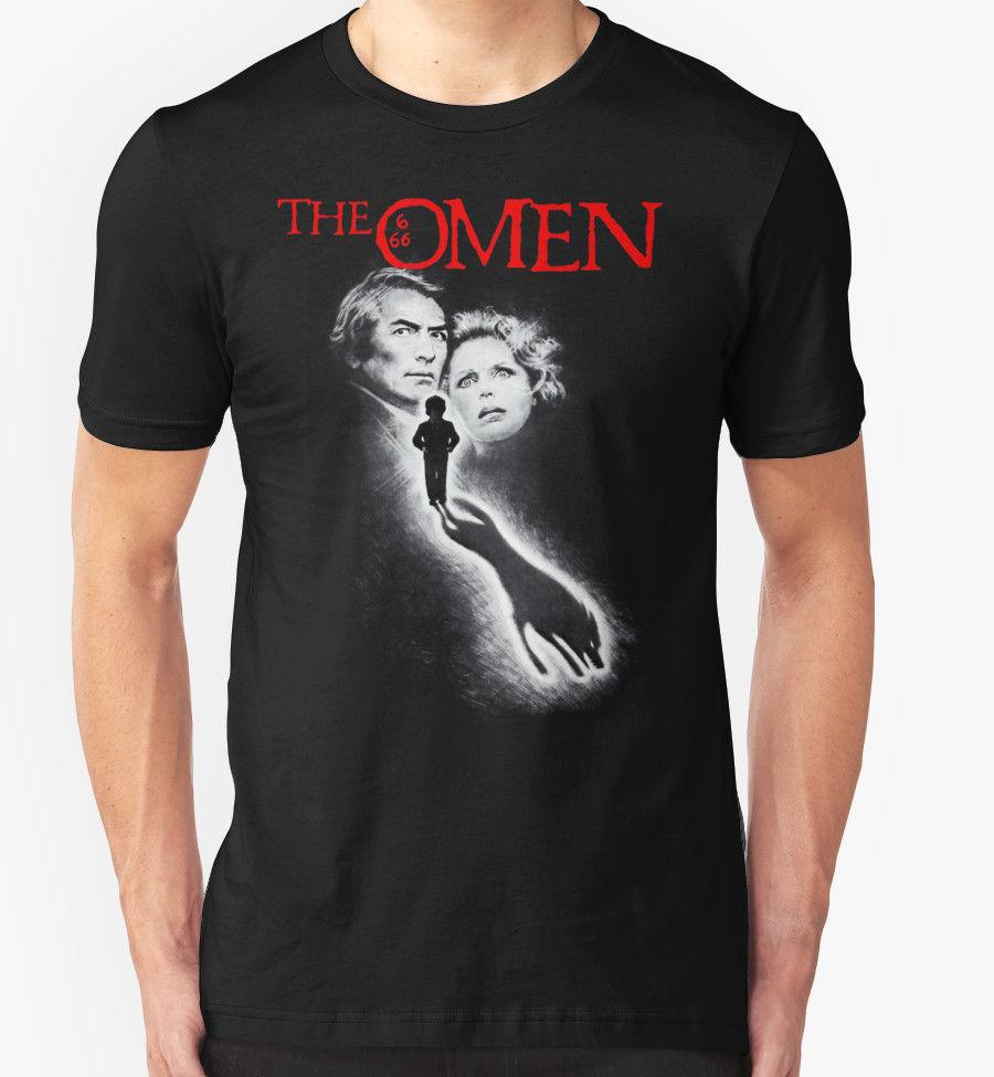 THE OMEN T SHIRT 1970'S MOVIE FILM HORROR RETRO VINTAGE BIRTHDAY PRESENT