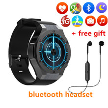 H2 Smart Watches Phone With Download App Heart Rate Clock WIFI SIM 5.0M Camera Android 5.1 Smart Watch Pk Kw88 Wearable Devices