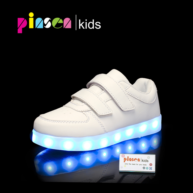 Led luminous Shoes For Boys girls Fashion Light Up Casual kids Shoes USB charge new simulation sole children Glowing sneakers new 7 color led glowing sneakers casual kids shoes for boys girls shoes fashion casual light up sneakers with luminous sole