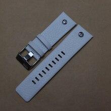 Banda de cuero genuino correas de reloj correas de reloj de pulsera negro marrón correa de reloj accesorios suave 22mm 24mm 26mm 28mm 30mm nuevo