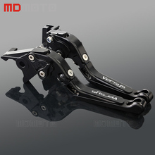 hot deal buy mdmoto motocross brake clutch levers for kawasaki versys 1000 2012-2014 versys1000 2015-2017 motorcycle accessories levers parts