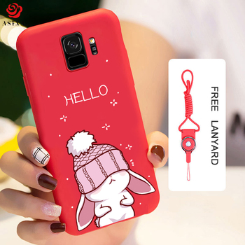 ASINA Silicone Case For Samsung Galaxy S9 Case Cute With Original 3D Relief Design For Samsung Galaxy S9 Plus Cover S8 Funda