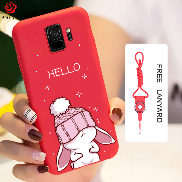buy popular 2cebd 4505c US $2.54 15% OFF|ASINA Silicone Case For Samsung Galaxy S9 Case Cute With  Original 3D Relief Design For Samsung Galaxy S9 Plus Cover S8 Funda-in ...