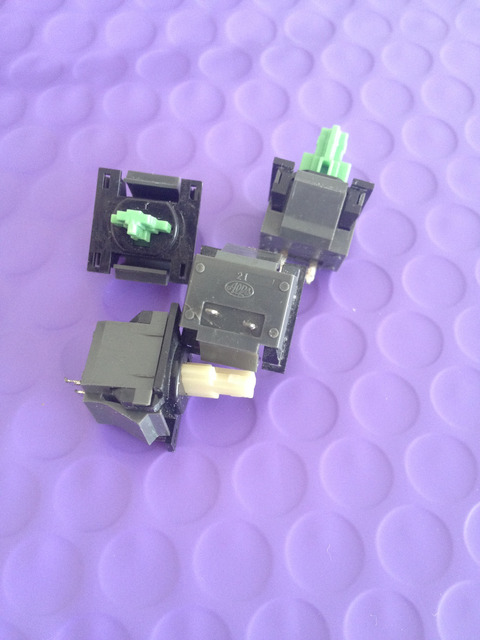 20PCS Alps SKCC series Green /Cream Keyboard switch