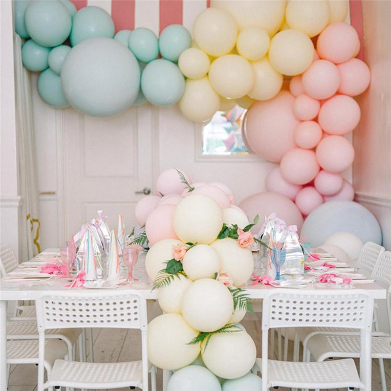 12inch 10pc 30pc 50pc Colorful Balloons Chrome Latex Balloons Wedding Christmas Party Decoration and Props