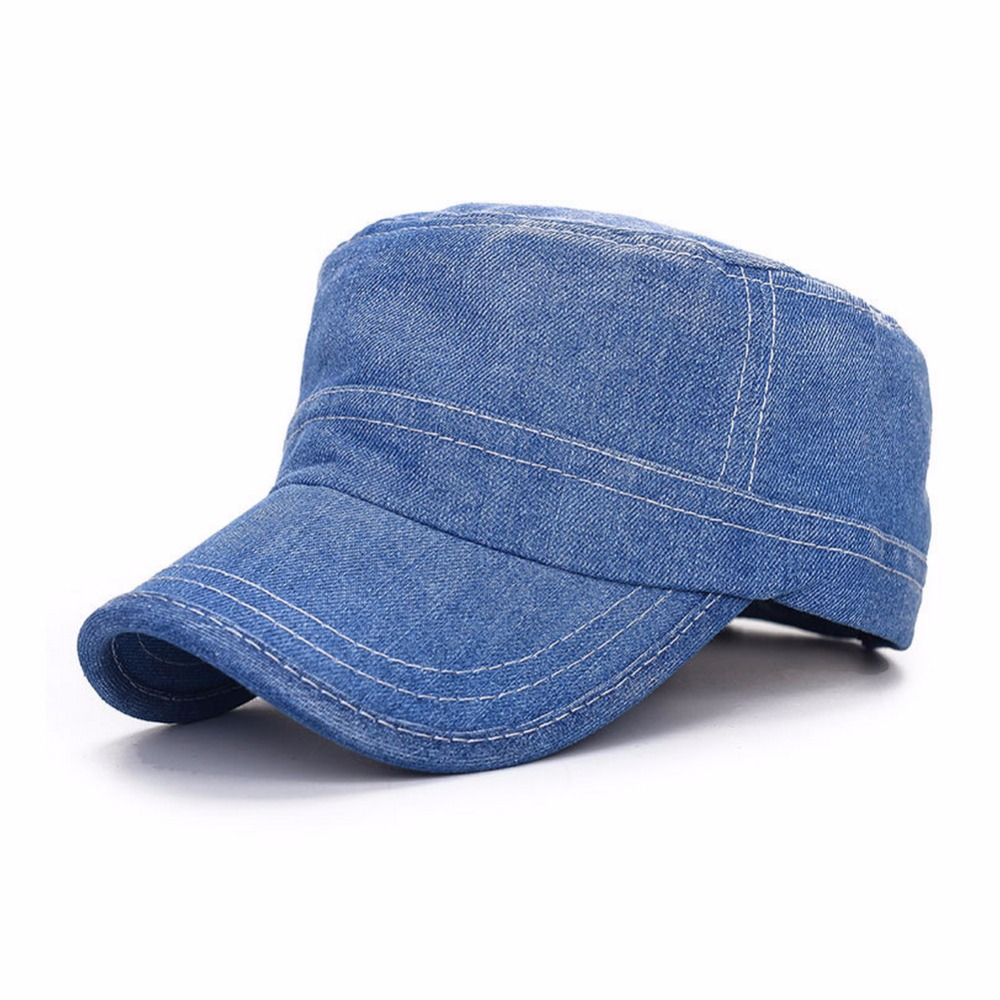 Fashion Men Baseball Cap Unisex Denim Canvas Hip Hop Snapback Hats Casual Travel gorras for men women casquette homme new 2017 fashion unisex cap bones baseball cap snapbacks hat simple hip hop cap casual sports female hats wholesale