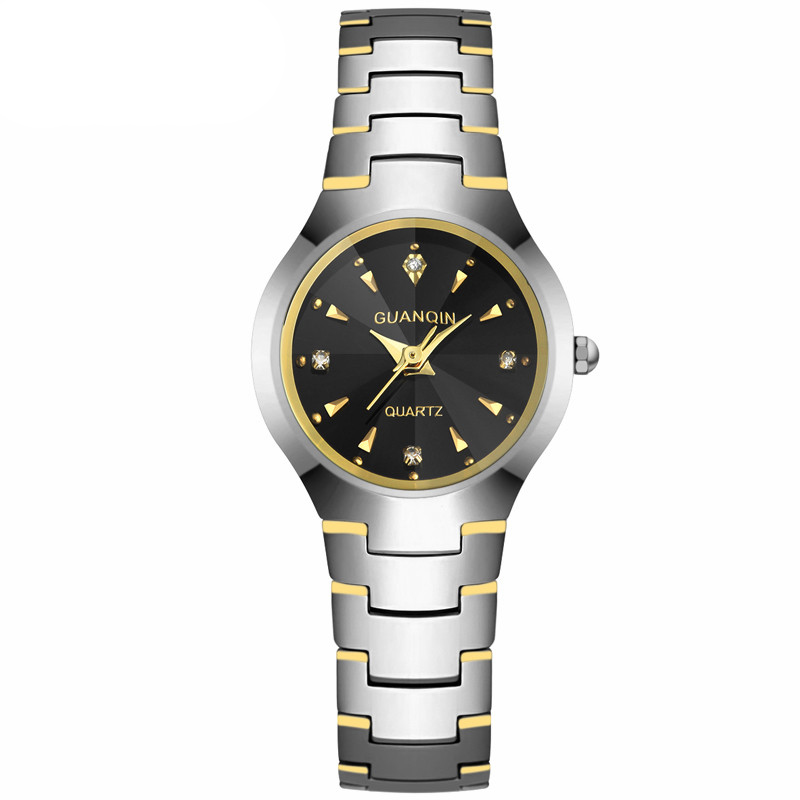 GUANQIN GQ30018 Fashion Watch Women Dress relogio feminino waterproof Tungsten Steel gold bracelet watches relojes mujer guanqin quartz watches fashion watch women dress relogio feminino waterproof tungsten steel gold bracelet watches relojes mujer