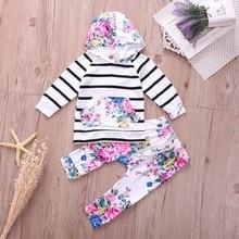 2Pcs Autumn Winter Newborn Baby Girls Clothes