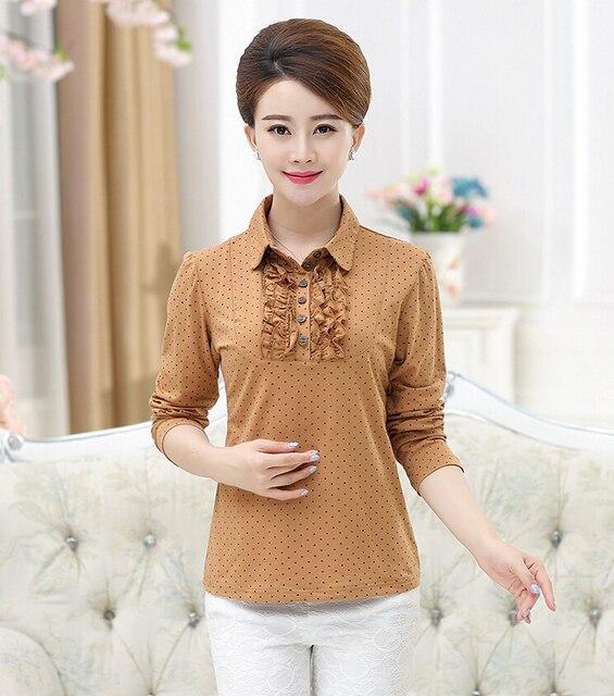Рубашки поло женщин хлопка дышащий рубашки женщин поло с длинным рукавом рубашки поло поло mujer femme манга corta marca 10