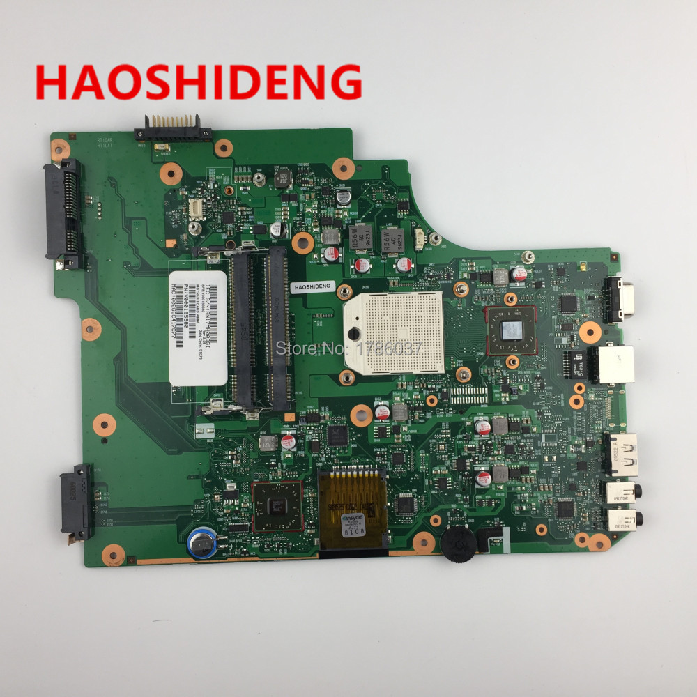 V000185580 for Toshiba Satellite L505 L505D Laptop Motherboard .All functions fully Tested ! v000138330 laptop motherboard for toshiba satellite l300 ddr2 full tested mainboard free shipping