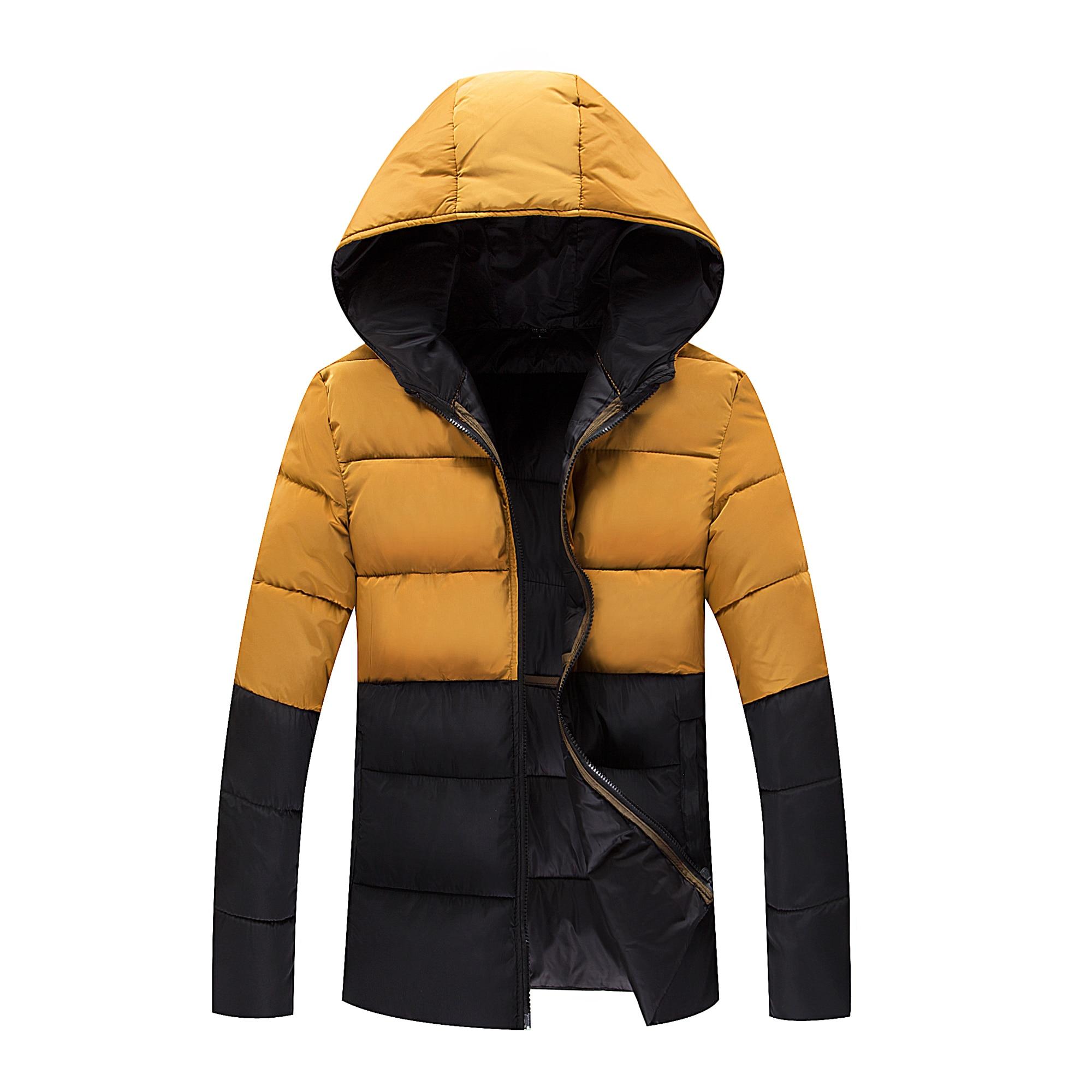 2017 Winter Thickening Waterproof Windproof Down Jacket Men's Cotton-padded Jacket Parka Outerwear Men Brand Wadded Jacket