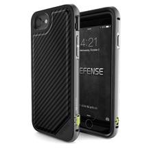 X-дориа Случае для iPhone 7 (Обороны Люкс) Военного Класса Падение Испытания, ТПУ & Алюминиевый Премиум iPhone7 Защитная Крышка Coque
