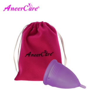Cup Medical Grade Silicone Menstrual Cup Health Safety Lady Menstrual Cup Coupe Menstruelle Feminine Menstrual Silicon Cup