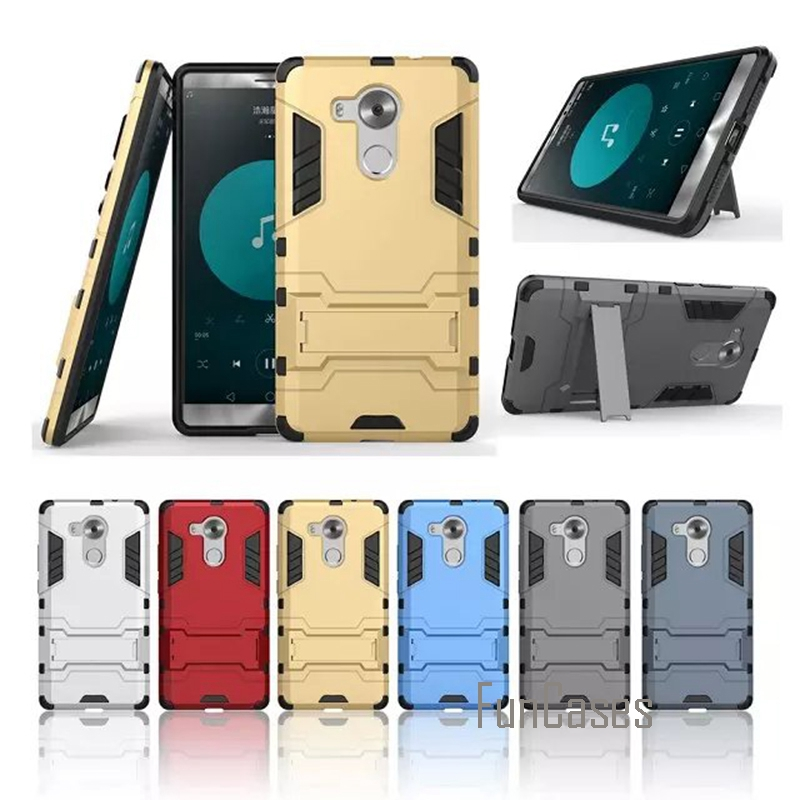 for Huawei Mate 8 cases 2 in 1 Hybrid Dual Heavy Duty TPU + PC Iron Man Shield 3D Armor Case For Huawei Mate 8 Phone Back Cover
