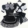 Japan Anime Haiyore! Nyaruko-san Cosplay Costumes Women Nyaruko Cos Halloween Clothes Black /  Blue